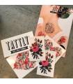 Τατουάζ προσωρινά, Λουλούδια